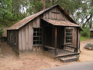 Original Marshall Cabin was constructed in 1848